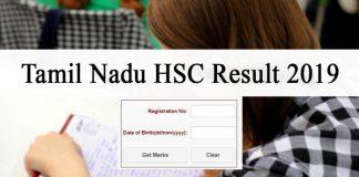 Tamil Nadu 12th Result 2019 Name Wise