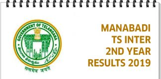TS Inter 2nd Year Result 2019 Name wise