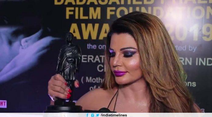 Rakhi Sawant Wins Dadasaheb Phalke Award