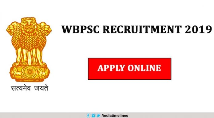 WBPSC Livestock Development Assistant Recruitment 2019