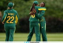 Masabata Klaas Hat Trick Against Pakistan
