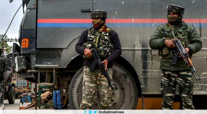 Intelligence input warns of terror attack in J&K