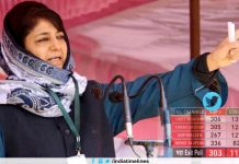 Mehbooba Mufti Tweet About Exit Poll Results