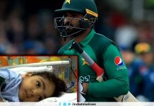 Pakistan batsman Asif Ali loses 2-year-old daughter