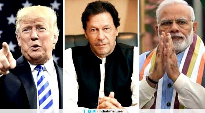 Trump And Pak PM congratulates Modi on 'big' election win