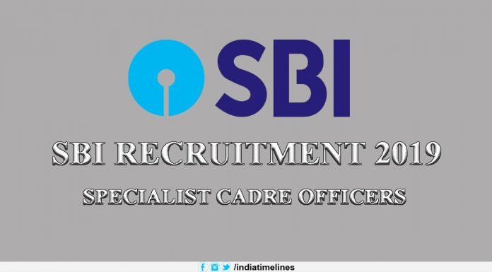 SBI Application Form 2019-20
