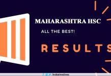 MSBSHSE Maharashtra HSC Result 2019