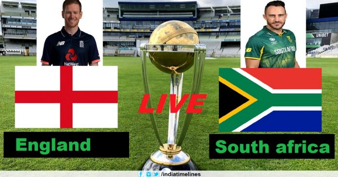 England Vs South Africa ICC Cricket World Cup 2019