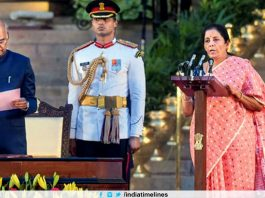 Nirmala Sitharaman gets Finance Ministry