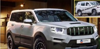 2020 Mahindra Scorpio SUV new gen spied testing - Launch Next Year