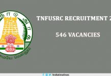 TNFUSRC Recruitment 2019