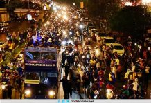 Mumbai Indians get a grand welcome