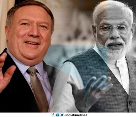 Mike Pompeo lavishes praise on PM Narendra Modi
