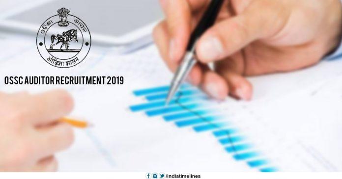 OSSC Auditor Recruitment 2019