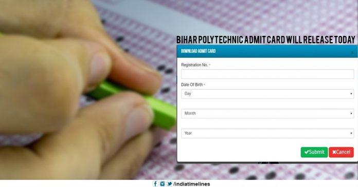 Bihar Polytechnic Admit Card 2019