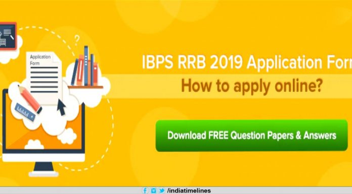 IBPS RRB 2019 Application Form