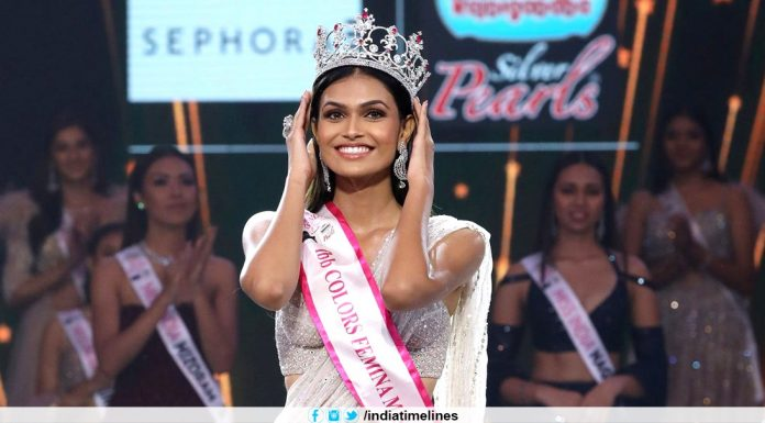 Miss Rajasthan Suman Rao Crowned Miss India 2019