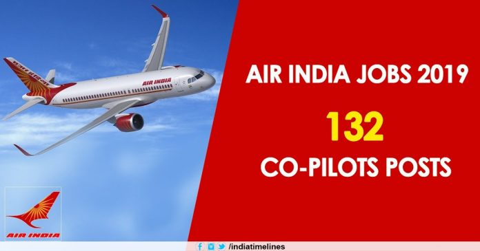 Air India Co Pilots Recruitment 2019