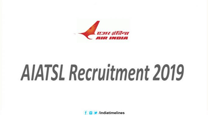 AIATSL Recruitment 2019