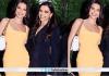 Deepika Padukone poses with Kendall Jenner