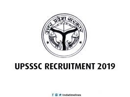 UPSSSC Recruitment 2019