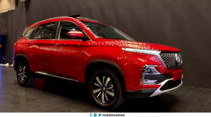 MG Hector Launched in India