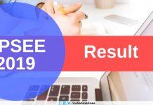 UPSEE 2019 Result Declared