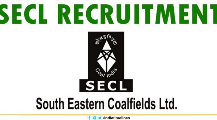 SECL Recruitment 2019