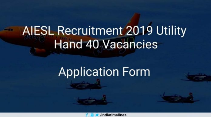 AIESL Air India Recruitment 2019