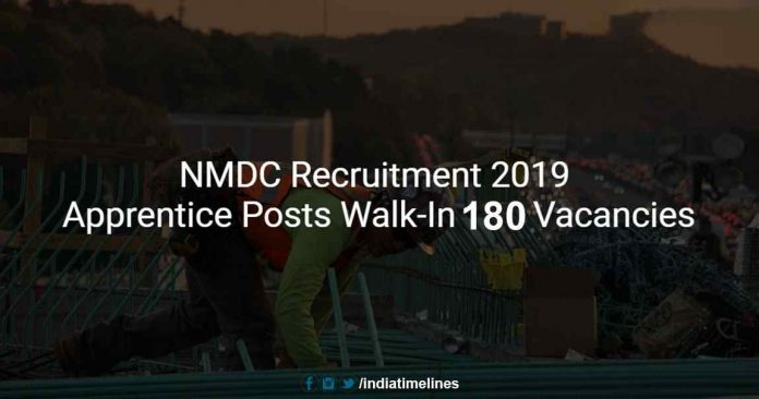 NMDC Recruitment 2019
