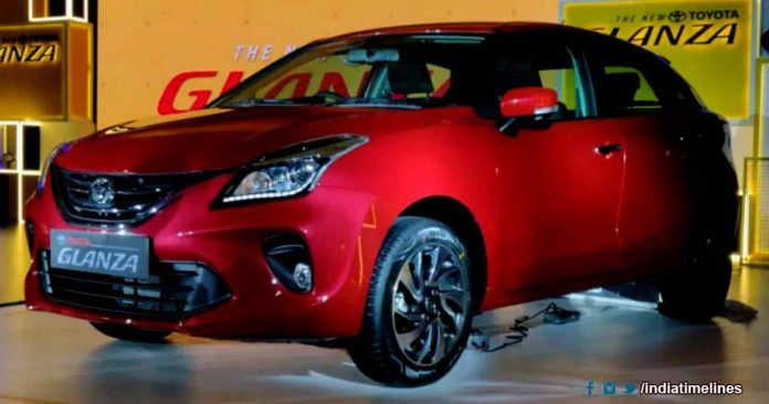 New Car Toyota Glanza Launched in India