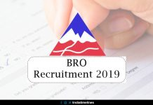 BRO Recruitment 2019