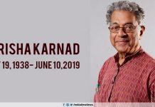 Girish Karnad dies at 81