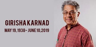 Girish Karnad dies at 81