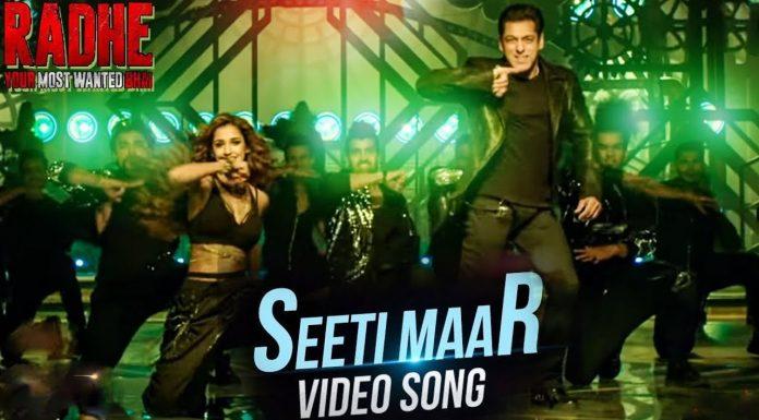 Seeti Maar Out Now: Salman Khan hits such a whistle, Disha Patani embraces