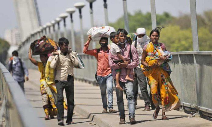 Lockdown in Delhi: Migrant laborers forced to flee again