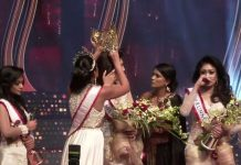 Uproar on stage in a beauty contest in Sri Lanka, winner injured