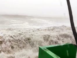 Cyclone Tauktae collides with the coastal region of Goa