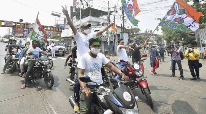 Hundreds of BJP workers flee Assam fearing Bengal violence