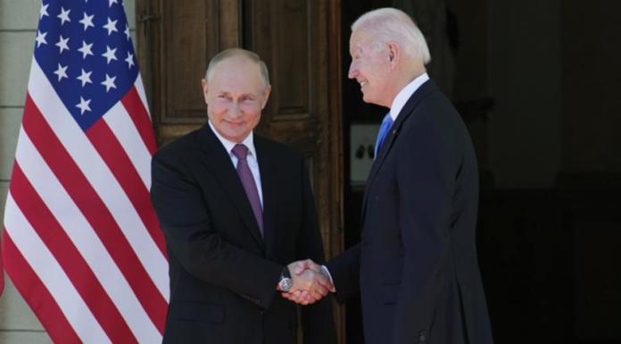 Joe Biden met Putin