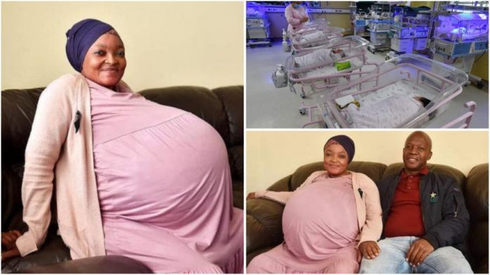 Woman gives birth to 10 children in South Africa