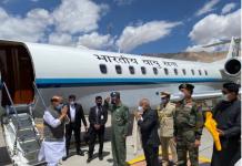 Defense Minister Rajnath Singh reached Leh-Ladakh, said a big thing to ex-servicemen