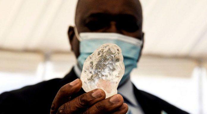 World's third largest diamond found in Africa