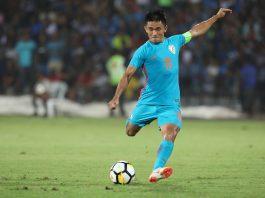 Sunil Chhetri broke Liones Messi's record
