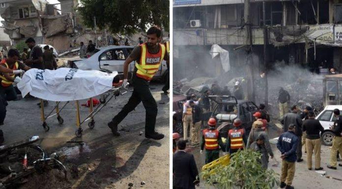 Hafiz Saeed: Massive bomb blast near Lashkar terrorist- 3 killed & 20 injured