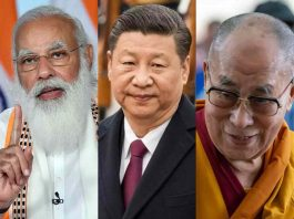 Another strong message to China- PM Modi spoke to the Dalai Lama