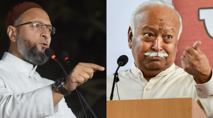Owaisi Attack On Mohan Bhagwat: But 100 Percent Hate Muslims' Owaisi
