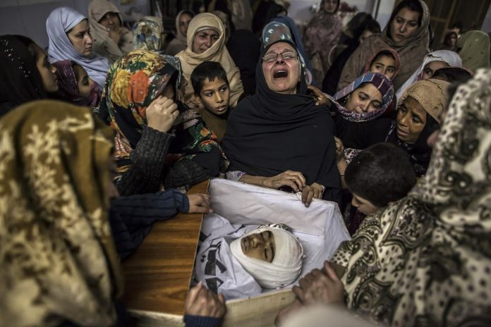 Bloody game of Taliban- killing 100 civilians on the instigation of Pakistan - dead bodies