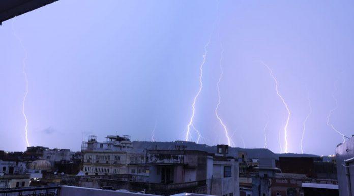 Lightning wreaks havoc on Rajasthan- more than 20 people including 7 children killed