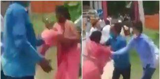 Akhilesh Yadav 'silent' after woman candidate's sari was pulled in Lakhimpur
